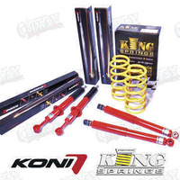 Koni 90 Series & Kings 30mm Raised Diesel Extra Heavy Duty Front & Rear Suspension Kit