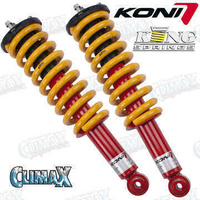 Koni 8240 Series Standard to 40mm Raised Assembled Struts 10mm Wheel Droop (8240-1270-S/S+5)