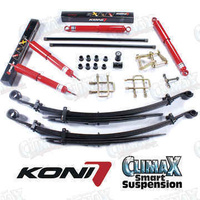 Koni 82 & Climax 50mm Raised Light Duty Front & Rear Suspension Kit