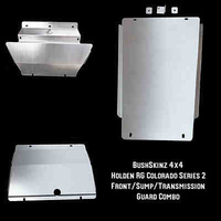 BushSkinz - Holden RG Series 2 Colorado Front, Sump & Transmission Guard / Bash Plate / Skid Plate