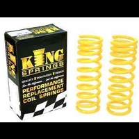 King Springs 200mm Raised Medium/Heavy Duty Front Springs (KDFR-42SP8)
