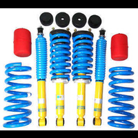 Bilstein, Lovells & Polyair 40-50mm Raised Front & Rear Assembled Suspension Kit