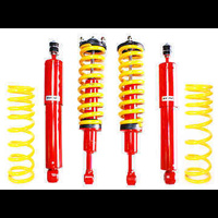 Koni 82 Series & Kings 30-40mm Raised Heavy Duty Assembled Front & Medium Duty Rear Suspension Kit